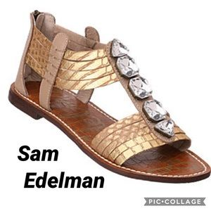 Sam Edelman Gladiator Galina Sandals Size 8.5